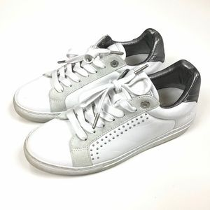 ZADIG & VOLTAIRE | Studded Leather Sneakers